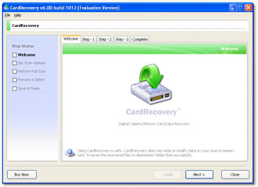Card Recovery Datenwiederherstellung Software