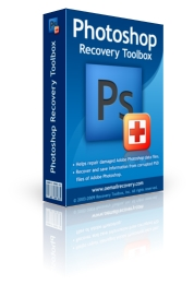 Photoshop Recovery Toolbox repariert defekte PSD Dateien